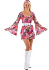 Retro Go Go Girl Costume Flower (EF2060)